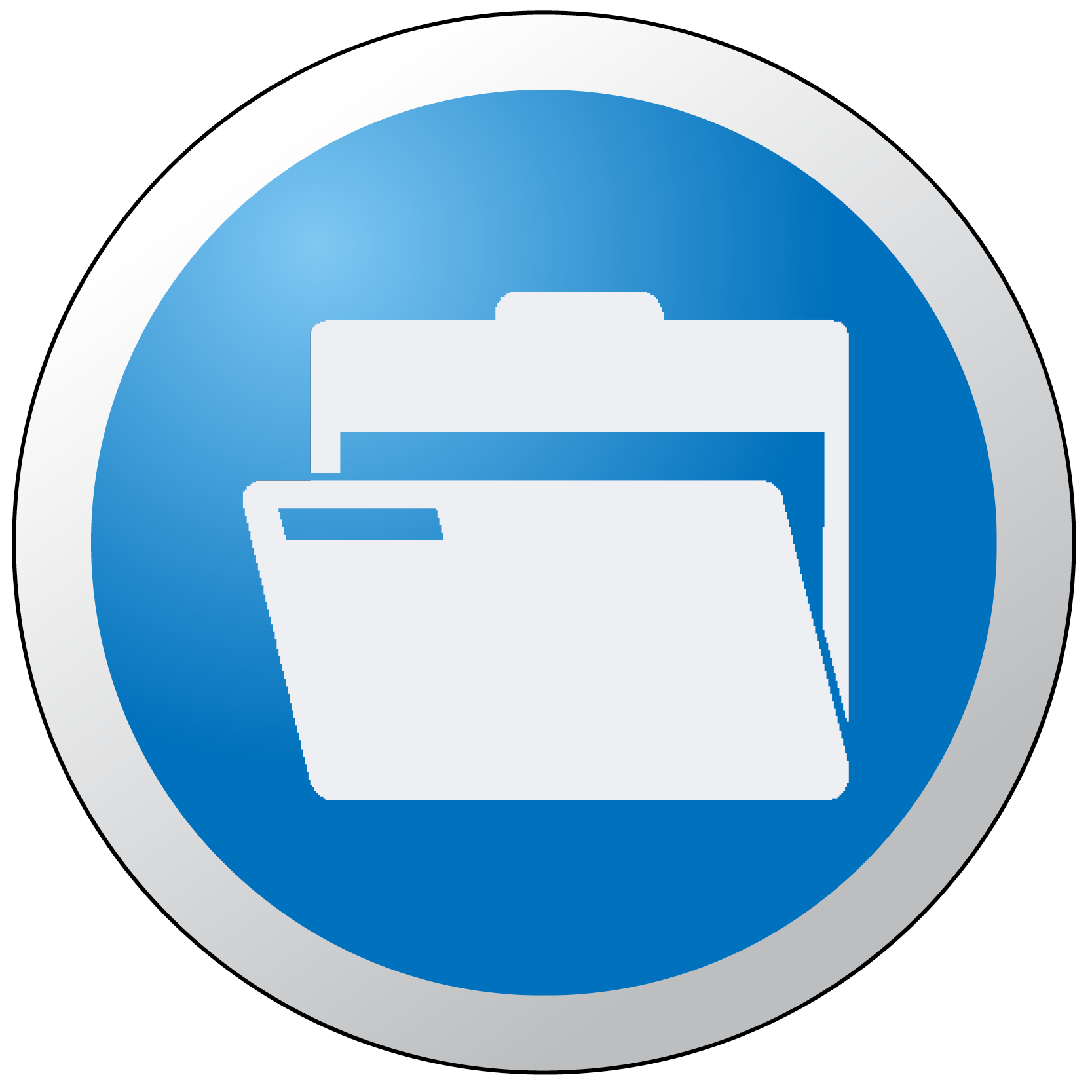 File Folder Button