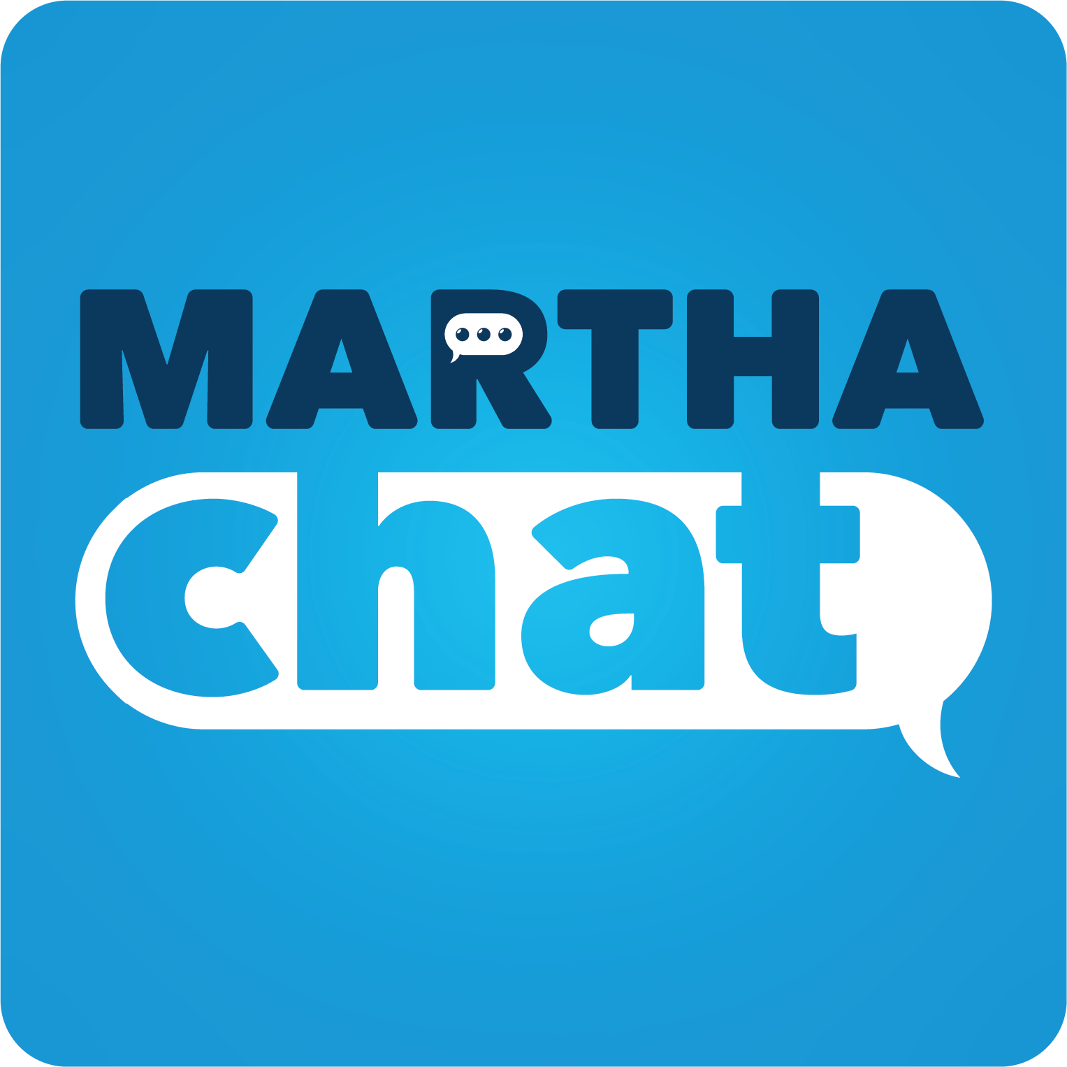 Martha Chat Button