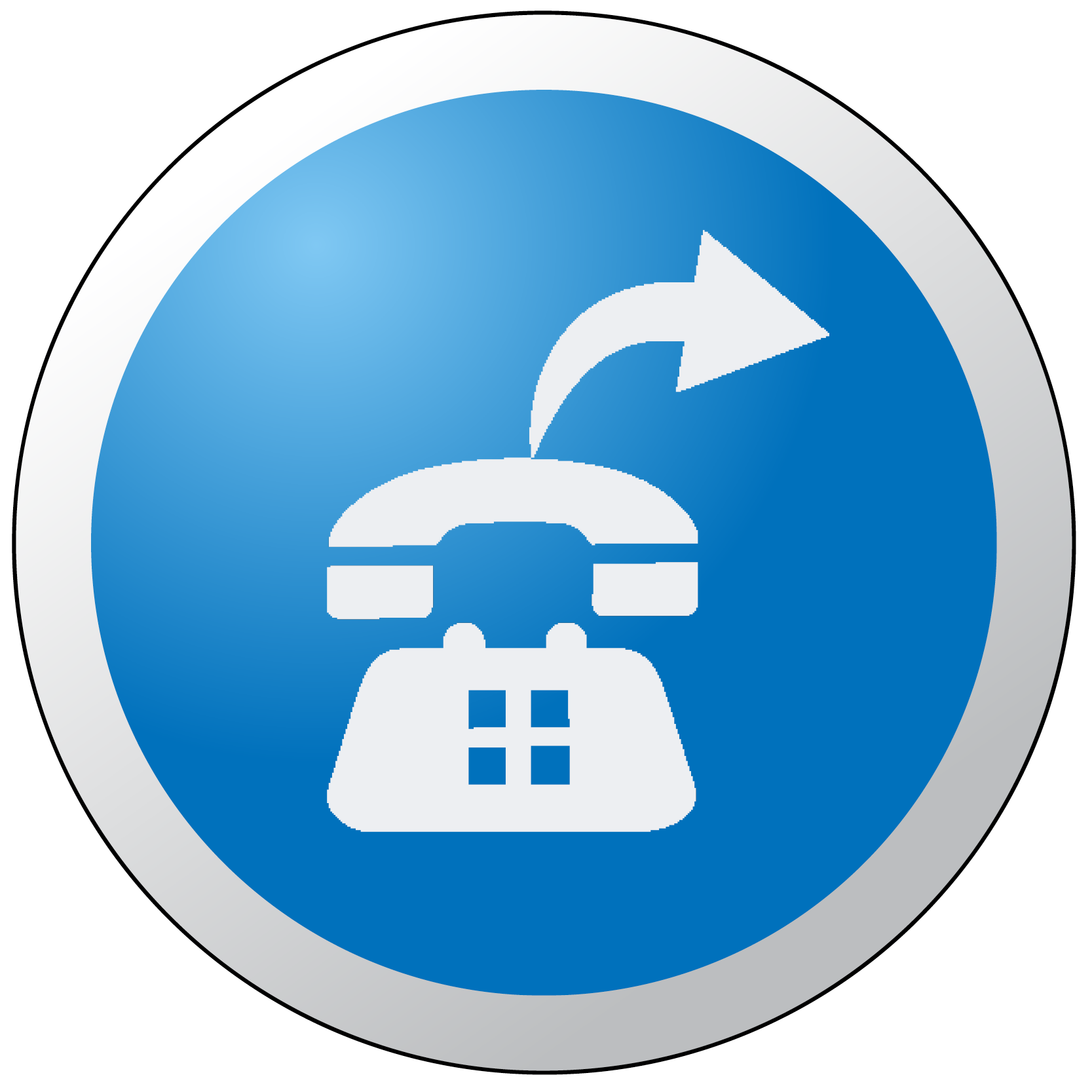 Phone Forwarding Button